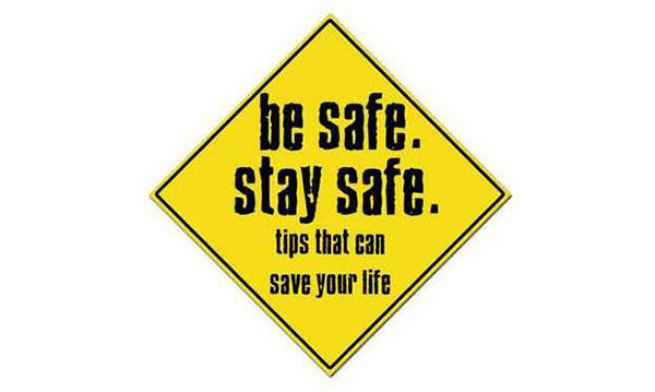 Be crime conscious - be aware of crime opportunities at all times. Photo: SAPS