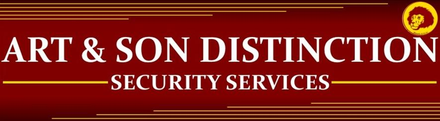 Art-&-Son-Distinction-Security-Services-logo